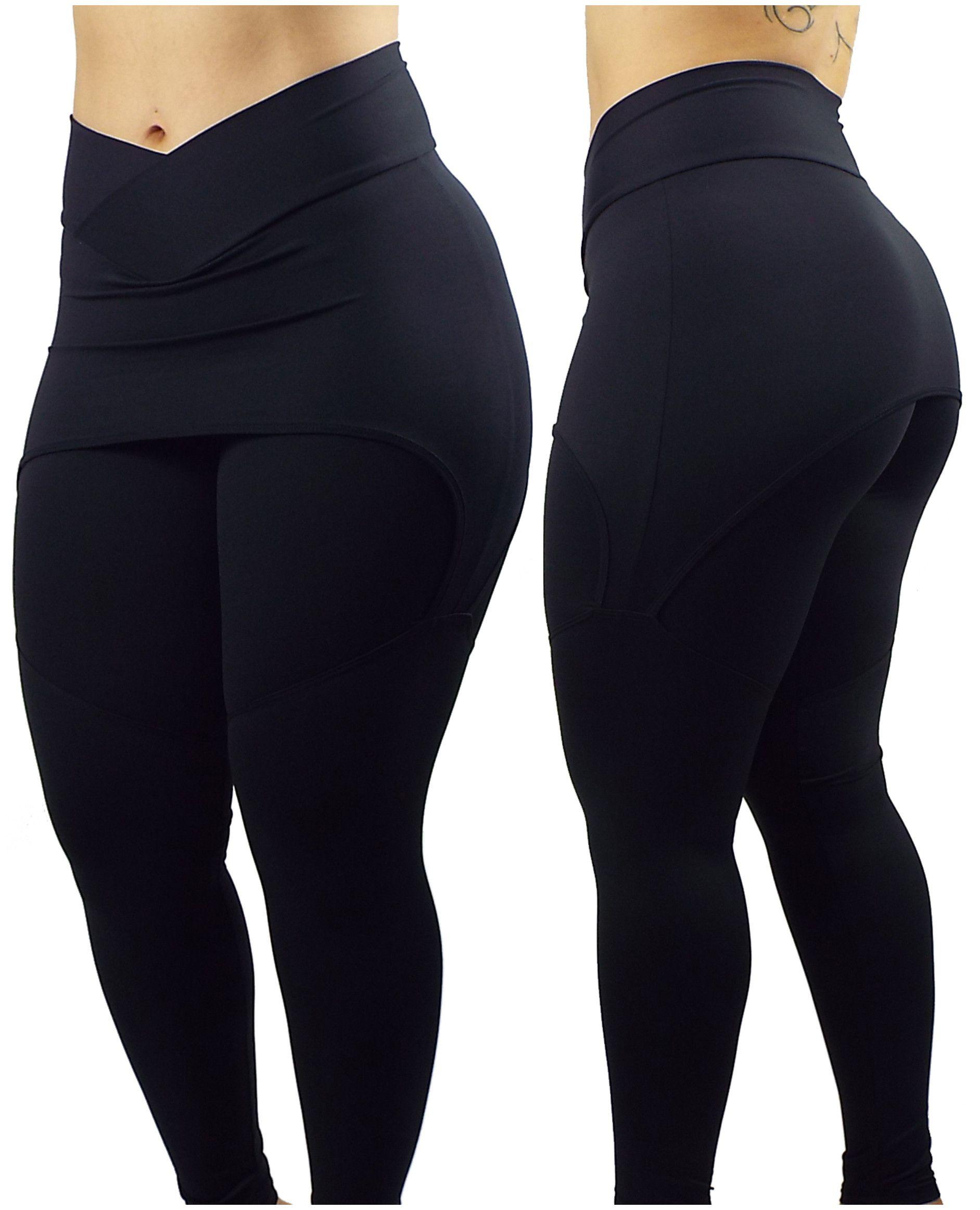 b00ed1468 Legging Com Saia La Seduzione Suplex Fitness Academia Grossa - R  98 ...
