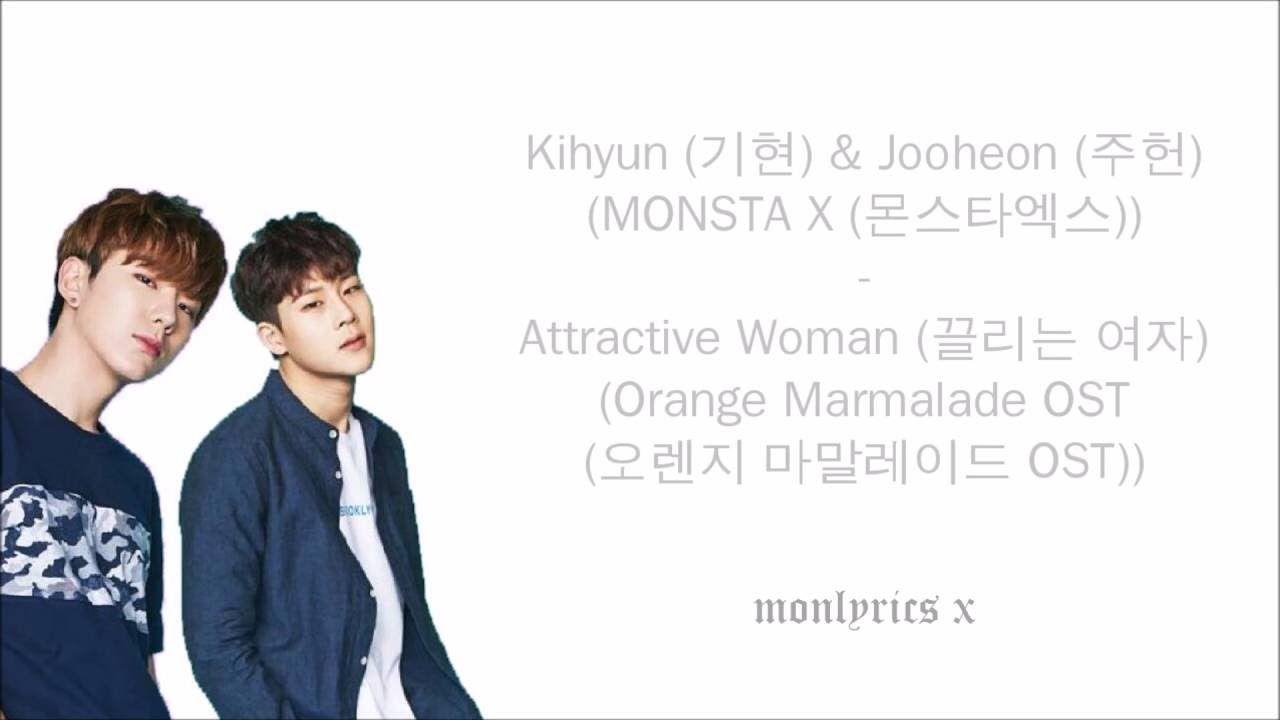 KIHYUN & JOOHEON (MONSTA X) - Attractive Woman (끌리는 여자) [Orange Marmalad...