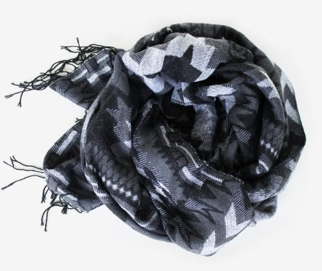 This scarf is a new favorite. Super soft and comfy but still edgy!
