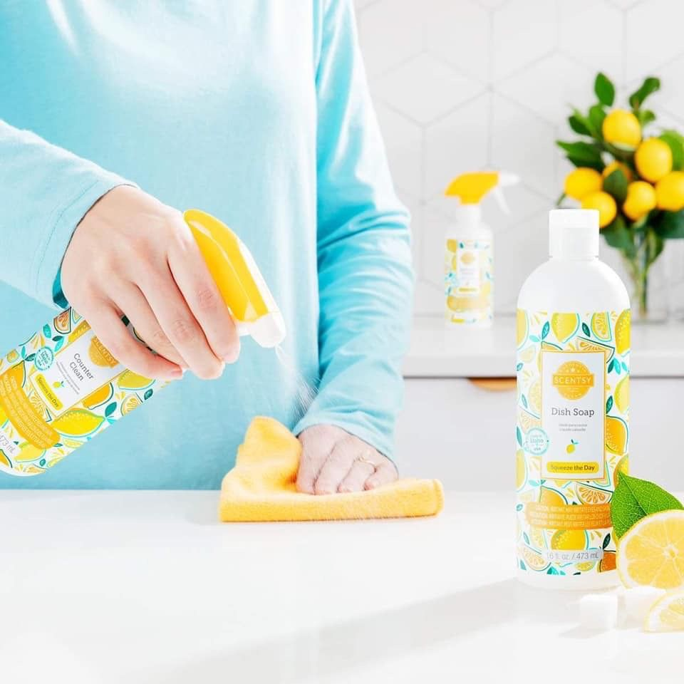 Coming march 9th in 2020 scentsy cleaning products