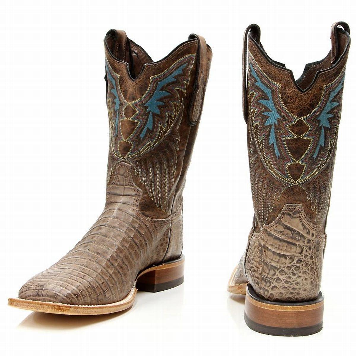 7e58f520398 Tony Lama Men's Kango Lux Black Label Ostrich Western Cowboy Boots ...