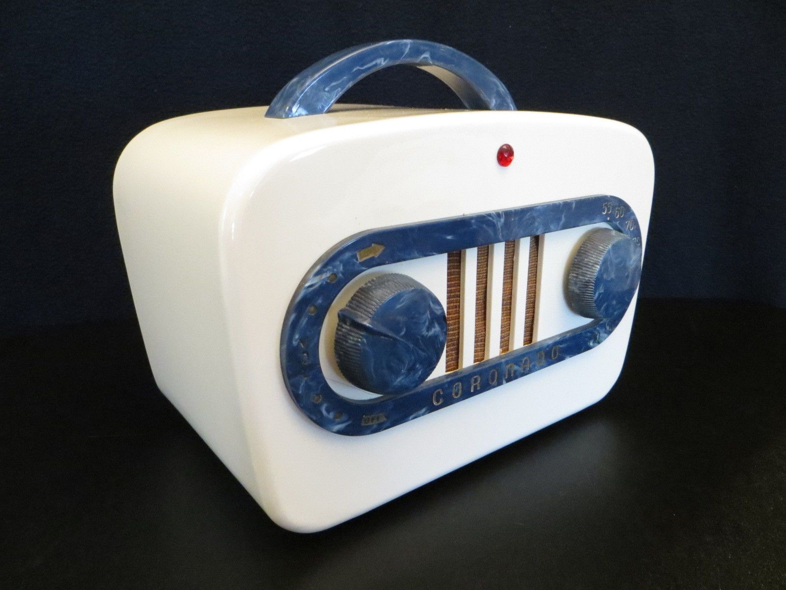 Vintage 1940s Art Deco Mid Century Coronado Antique Radio Quality Restoration | eBay