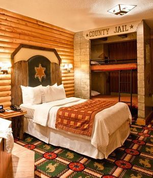 Wild West Suite 25 Amazing Kid Friendly Hotel Suites Themed