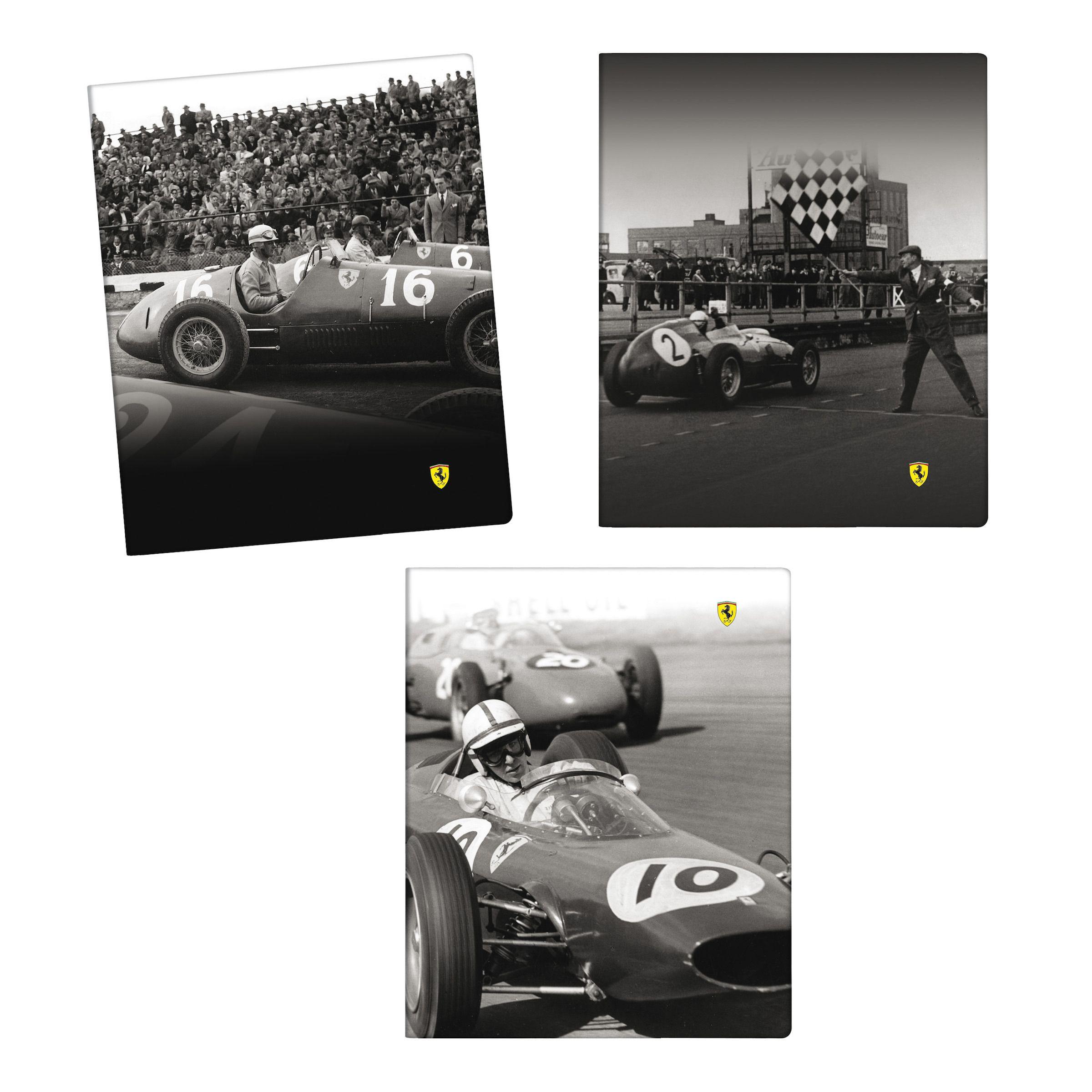 Notatnik Ferrari Retro Collection   FERRARI HOME   Fbutik   Scuderia Ferrari Collection