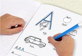 Basisschrift Buchstaben lernen Arbeitsblatt | Vorschule Buchstaben ...