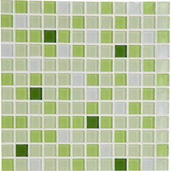 Mosaique Mur Shaker Mix Vert 2 3 X 2 3 Cm Leroy Merlin Shaker Vert Mur