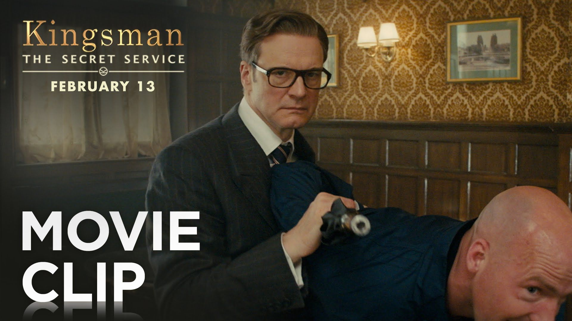 Never underestimate a Kingsman. Watch the brand new clip