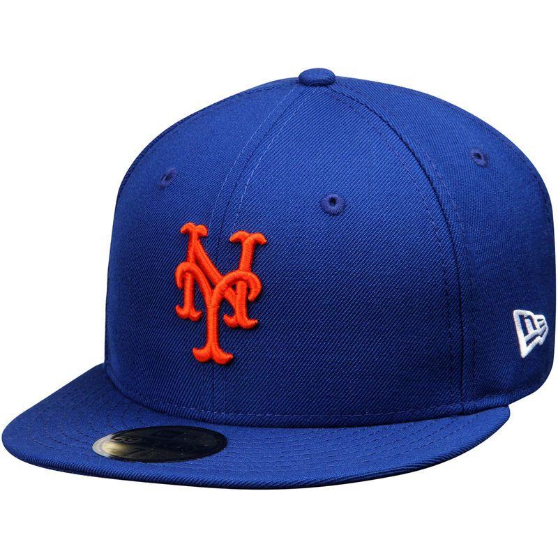 153e086e40980 Matt Harvey New York Mets New Era Name   Number 59FIFTY Fitted Hat - Royal  Gorras