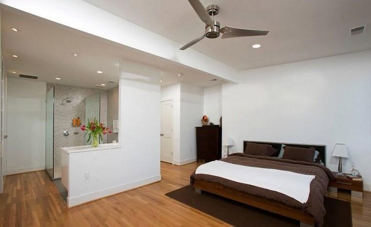 Kleedkamer In Slaapkamer : Slaapkamer met kleedkamer en badkamer 50 ontwerpopties badkamer