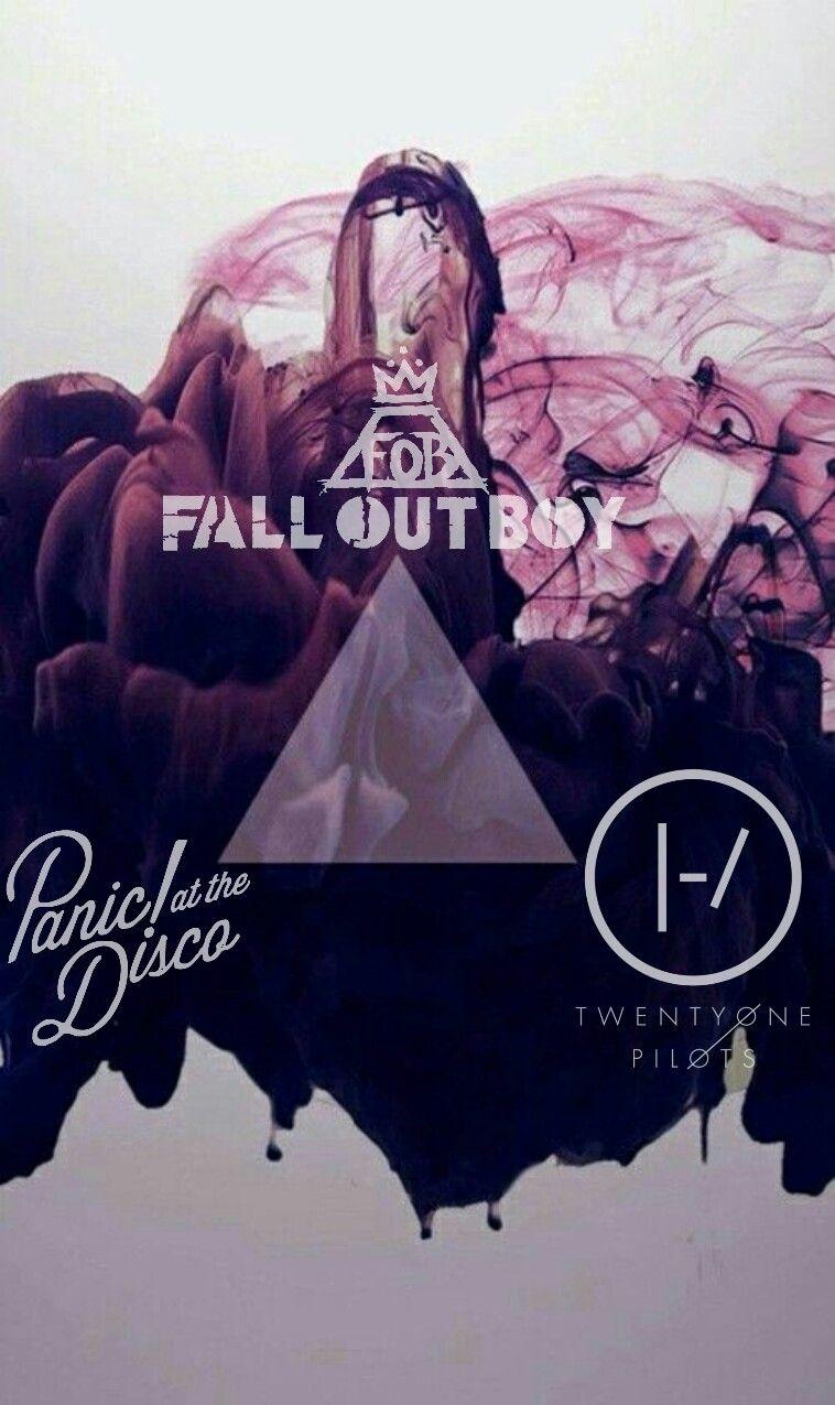 Fall Out Boy Laptop Wallpaper The Emo Trinity Twenty 216 Ne Pil 248 Ts Fall Out Boy Panic