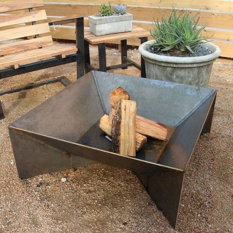 55 Easy DIY Fire Pit Ideas for Backyard Landscaping - Page 54 of 55 #firepitideas