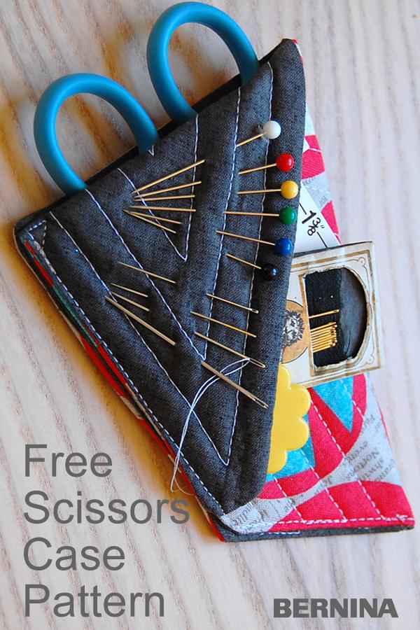 Mini Scissors Case Tutorial