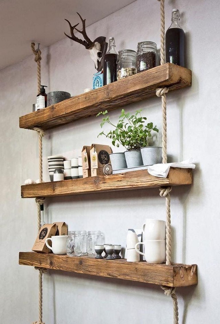 29 Awesome Diy Hanging Shelves Ideas To Maximize Storage In A