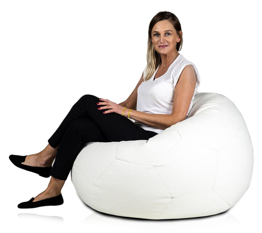 Sitzsacke Fußball Sind Kunstleder ähnlich Der Stoff Ist Elegant Und Weich Füllung Dekoration Kinderzimmer Fußball Sitzsack Fussball Sitzen