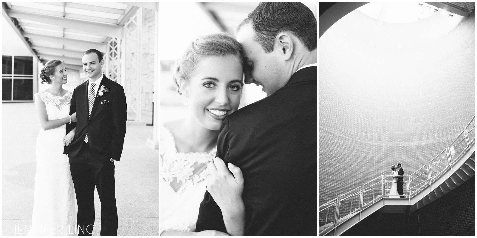 Ellie + Colin   Wedding Reception. Photos by Jennifer Ling Photography. #IndianaStateMuseum