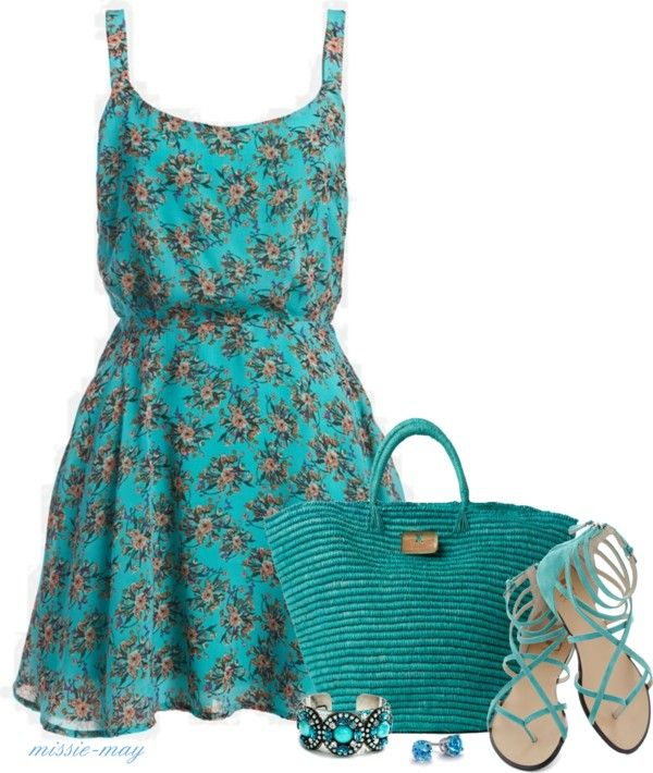 """""""50 Shades of Blue"""" by missie-may on Polyvore"""