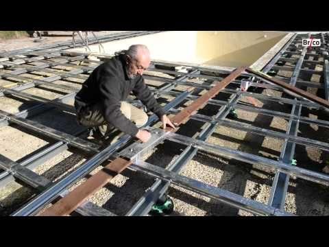 Créer une terrasse en bois vraiment durable - Bricolage avec Robert - construction terrasse en bois sur parpaing