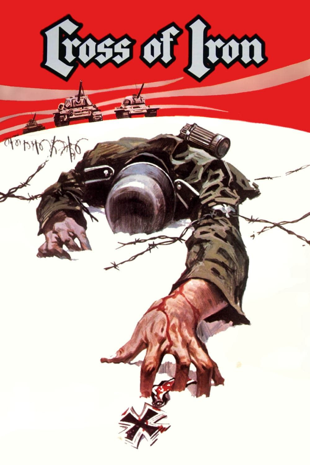 Cross of Iron (1977) poster Cross of iron, Full movies