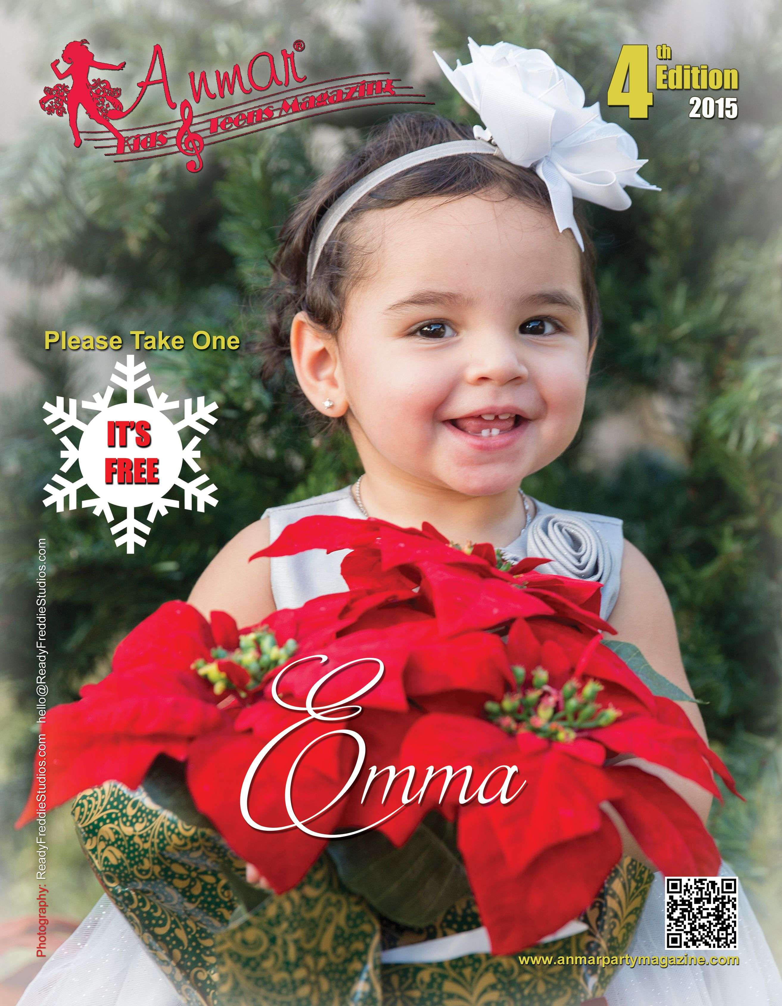 Anmar Kids and Teens Magazine 4th  Edition on Line only