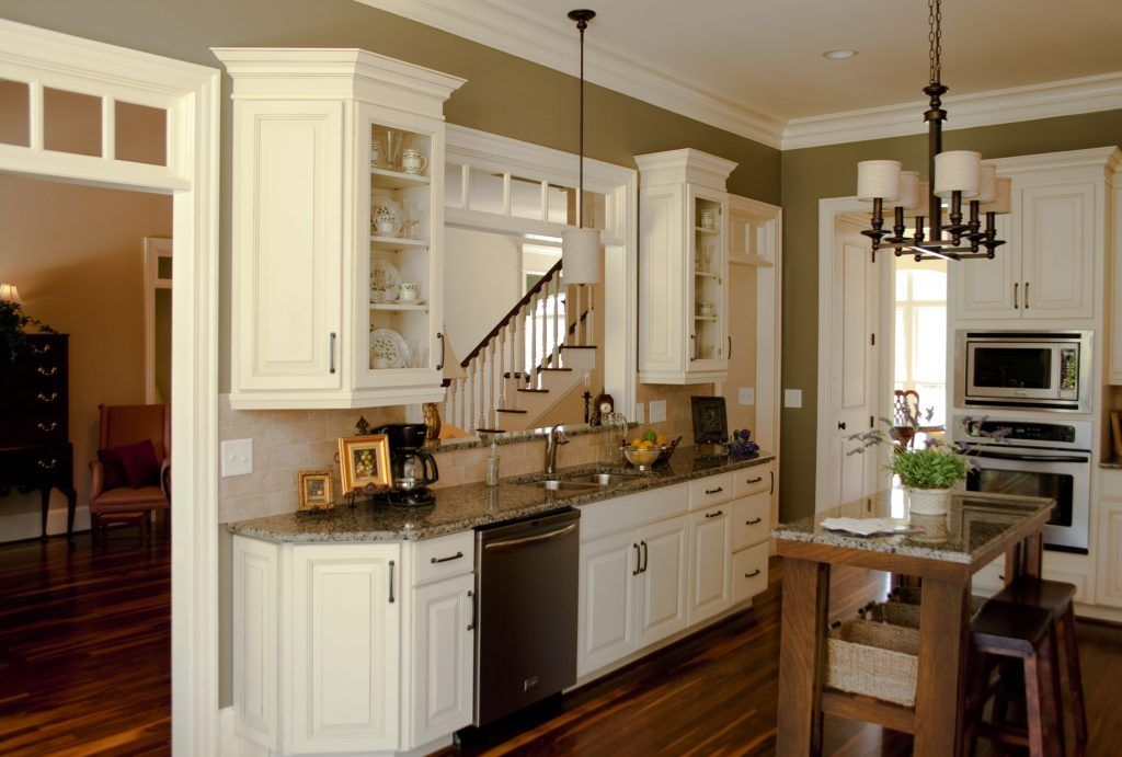 Angled End Kitchen Cabinets | Glazed kitchen cabinets, Kitchen wall cabinets, Corner kitchen cabinet