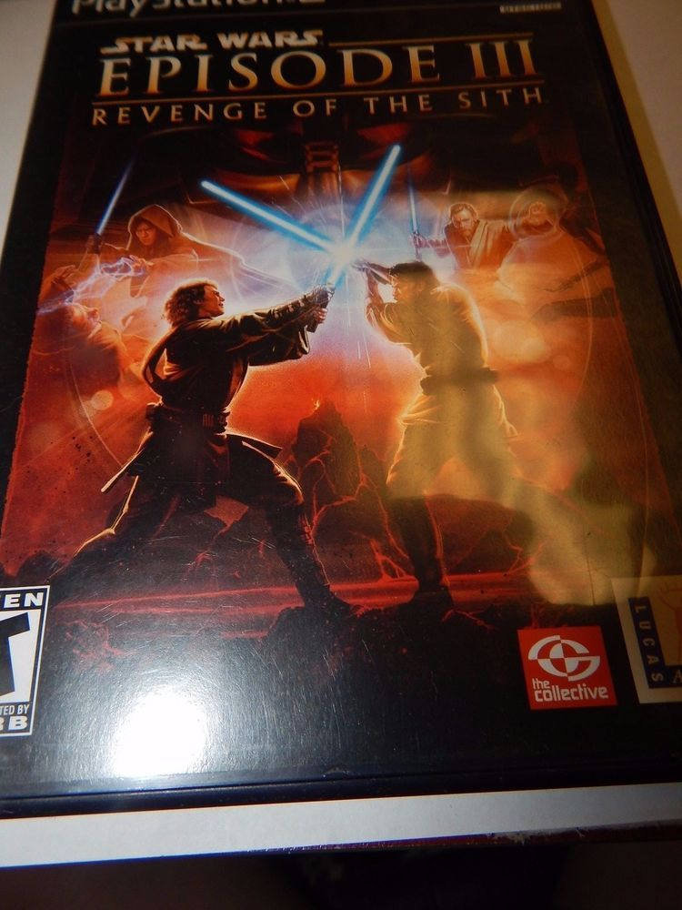 Playstation 2 Star Wars Episode Iii Revenge Of The Sith Video Game Star Wars Episodes Playstation Revenge
