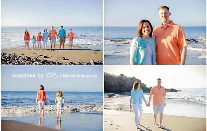 Color Schemes For Family Beach Pictures