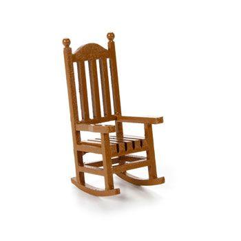 Miniature Rocking Chair 3 3 4 Wood Rocking Chair Rocking
