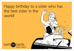 Brilliant Funny Birthday Wishes For Sister Google Search Birthday Wishes Personalised Birthday Cards Paralily Jamesorg