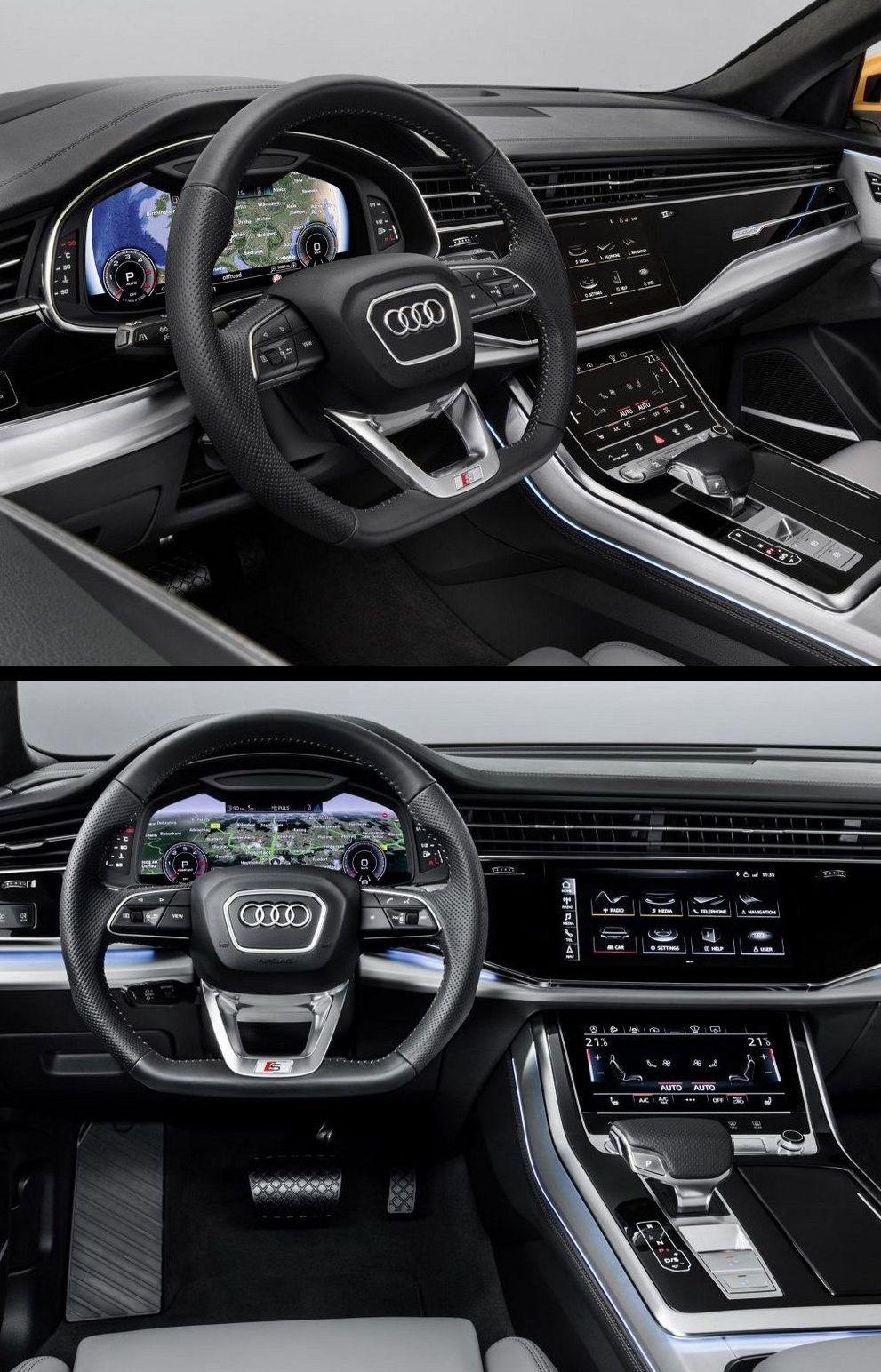 Audi Q8 2018 Ux Ui Hmi Cars Pinterest