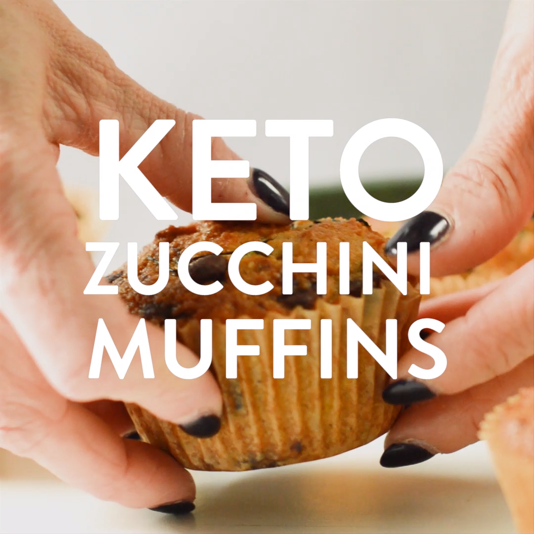 KETO ZUCCHINI MUFFINS easy moist only 45 g net carbs 613826624196086589