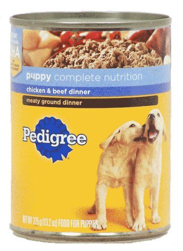 Pedigree Brand Canned Dog Food For Puppies Best Remote Dog
