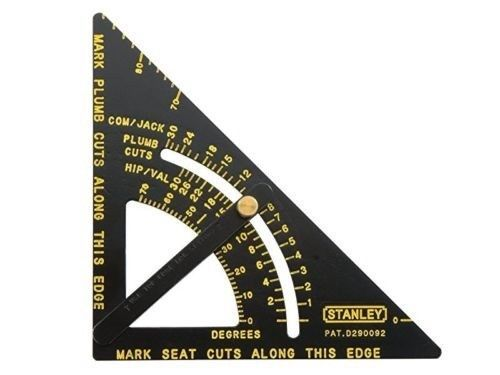 Speed Square Tool Adjustable Layout Heavy Duty Aluminum Multi Purpose Stanley Quick Square Square Tool Stanley Hand Tools