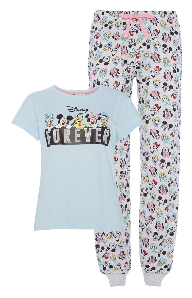 Ladies Primark Pyjamas DISNEY LADY AND THE TRAMP Women/'s Summer PJ Set 6 to 20