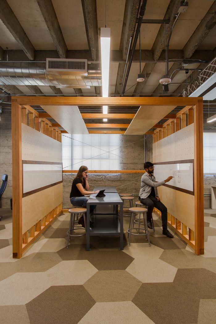 Office tour clever offices san francisco office for Interior design office room