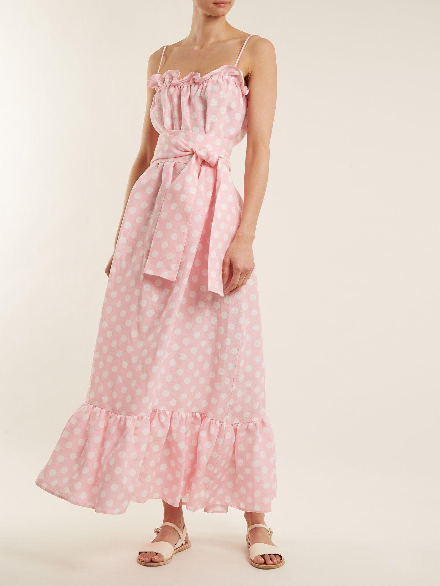 60ec286bd0 Click here to buy Lisa Marie Fernandez Liz linen maxi dress at  MATCHESFASHION.COM