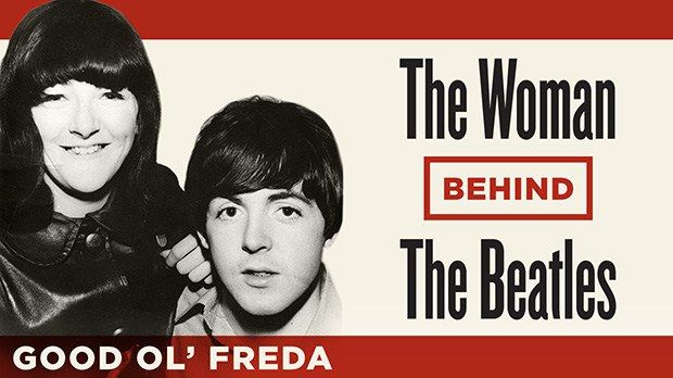 The Woman Behind The Beatles - http://johnrieber.com/2013/09/13/the-beatles-exclusive-new-movie-good-ol-freda-meet-the-fab-fours-secretary/