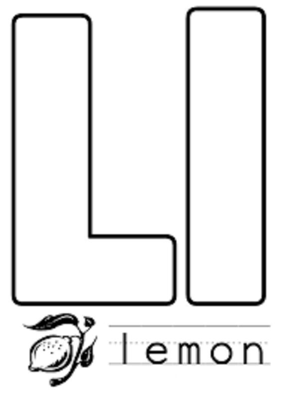 Letter L Crafts Preschool And Kindergartenpreschool Crafts Mobile Version Alphabet Coloring Pages Letter L Crafts Letter A Coloring Pages