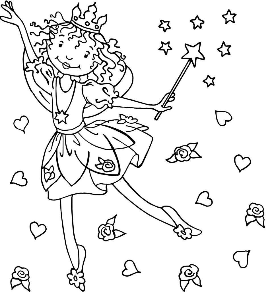 Prinzessin Lillifee Malvorlagen
