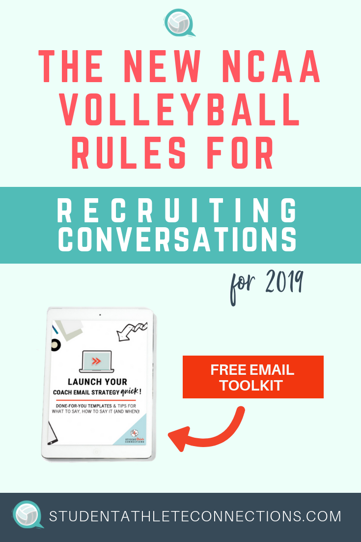 The New Ncaa Volleyball Rules For Early Recruiting Conversations Go Into Effect On May 1 Find Out The New Dat Student Athlete Launch Strategy Volleyball Rules