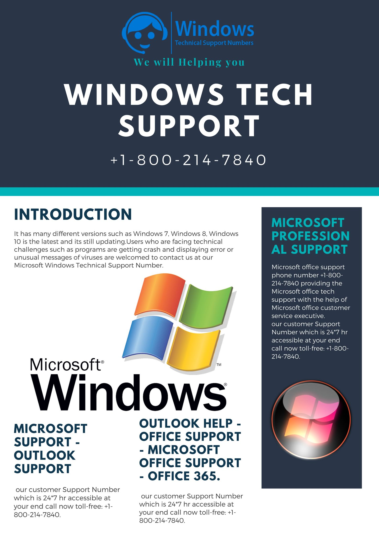 Microsoft Office Windows 7 Microsoft Windows Tech Support Phone Number 1 800 214 7840 Is For