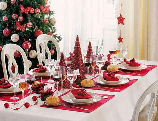 decorarmesacentronavidad Navidad Pinterest Decorando mesas