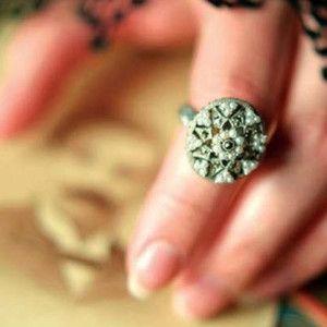 Sterling Silver Vintage Poison Ring #poisonring #frenchpoisonring #vintagepoisonring #vintagerings