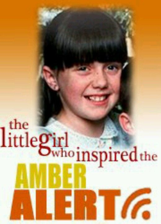 January 15 – Amber Hagerman, a 9-year old American child victim and