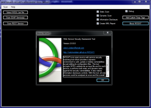 WSSAT is an open source web service #security scanning tool