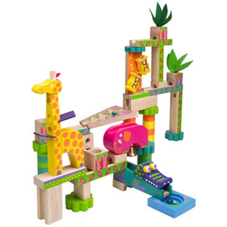 Jungle Marble Maze Kids Marble Run Marble Maze Alex Toys Rainbow Toy