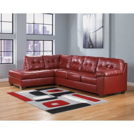 Best Home Leather Sectional Sofas Red Leather Sectional 640 x 480