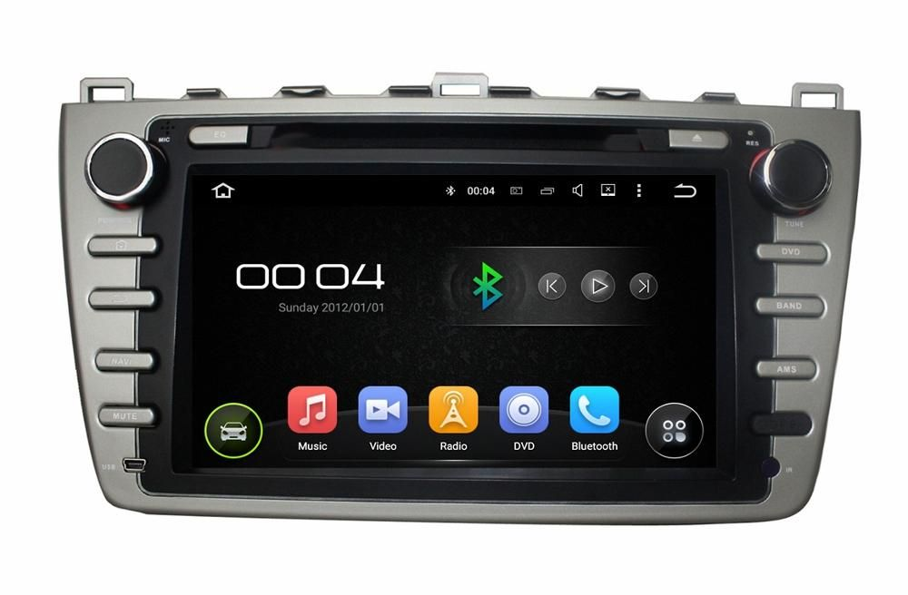 "Rockchip 3188 A9 Quad Core CPU 8"" Android 5.1 Car Radio DVD GPS for MAZDA 6 2008-2012 With Radio GPS 3G Wifi Bluetooth USB DVR"