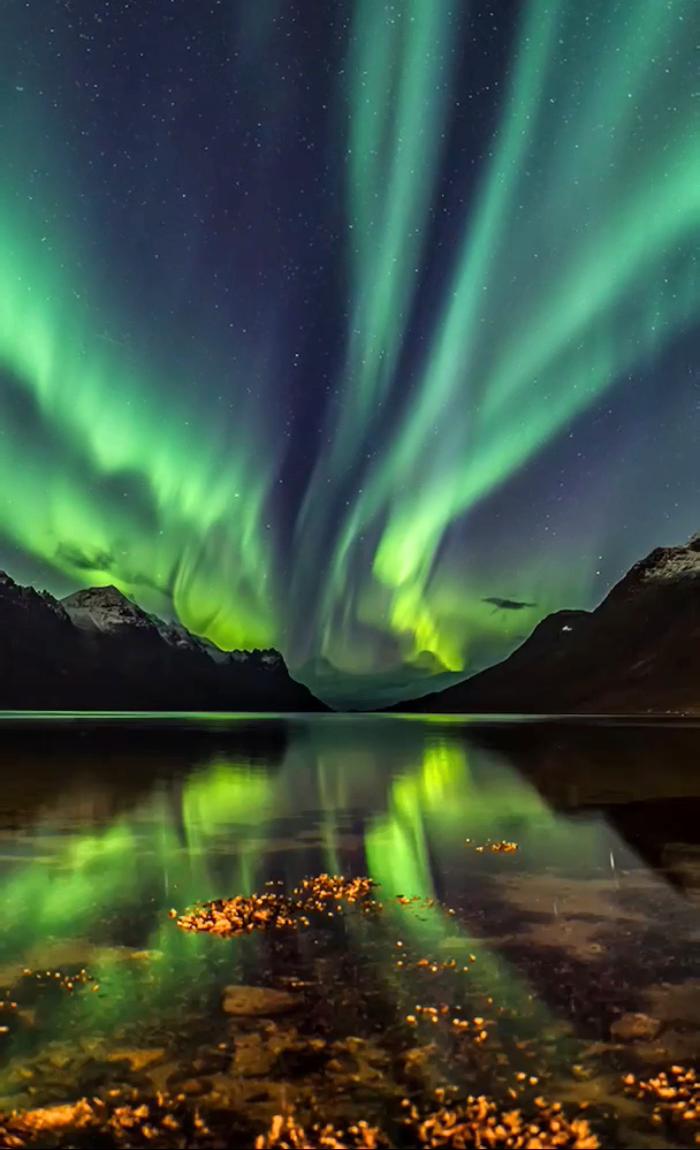 Northern Lights Aurora Borealis Video Video Aurora Boreal Papeis De Parede Em Movimento Fotografia De Paisagem