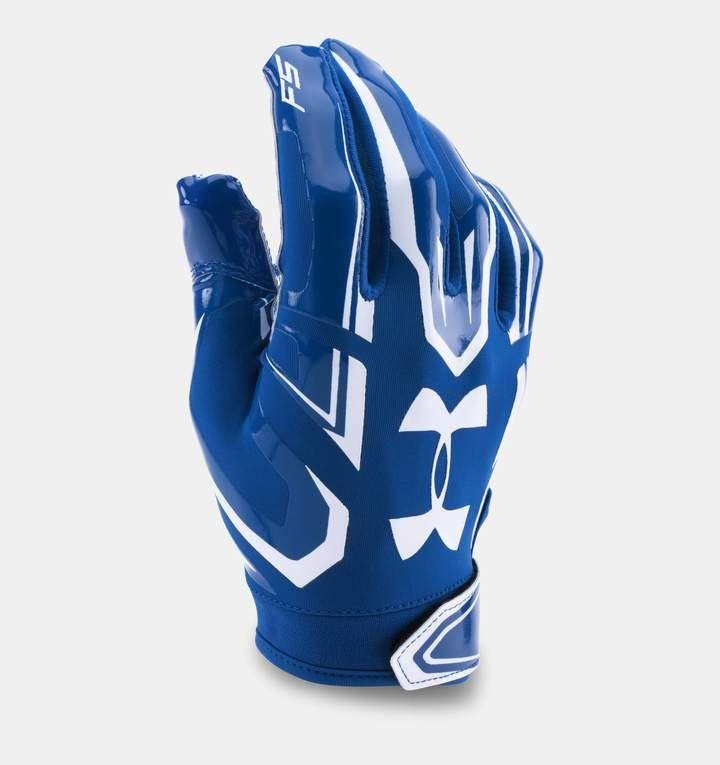 Boys ua f5 football gloves under armour us football