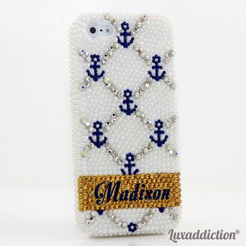 Bling custom name and initials bling case for all phones